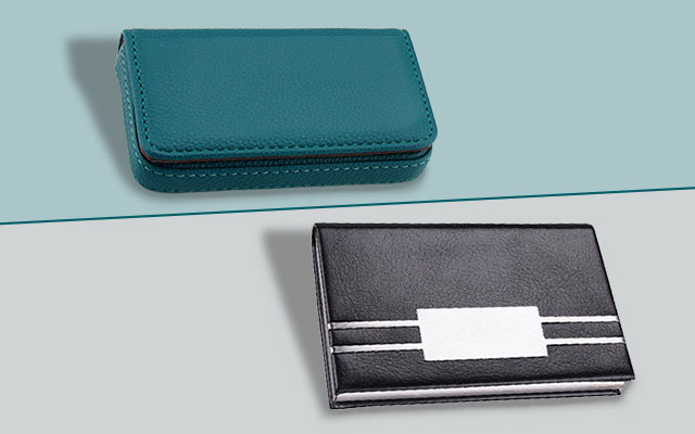 man who is working behind the desk from 9 to 5 57 every week or a busy businessman owing an appropriate means of bringing along your business cards - Business Card Wallet
