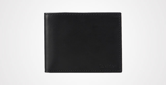 7a8492aabf4d Calvin Klein Men s Rfid Blocking Leather Bookfold Wallet With Key Fob