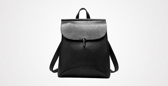 6c223e881377 SiMYEER Women s Pu Leather Backpack Purse Ladies Casual Shoulder Bag School  Bag for Girls