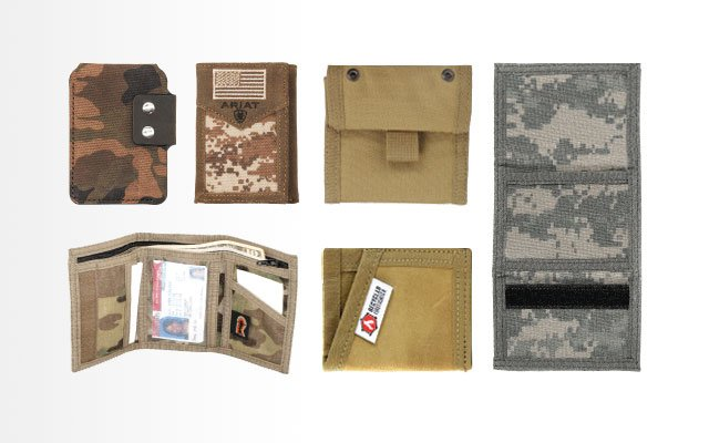 USA American Flag Tactical Military Trifold Wallet US Patriotic Money Holder